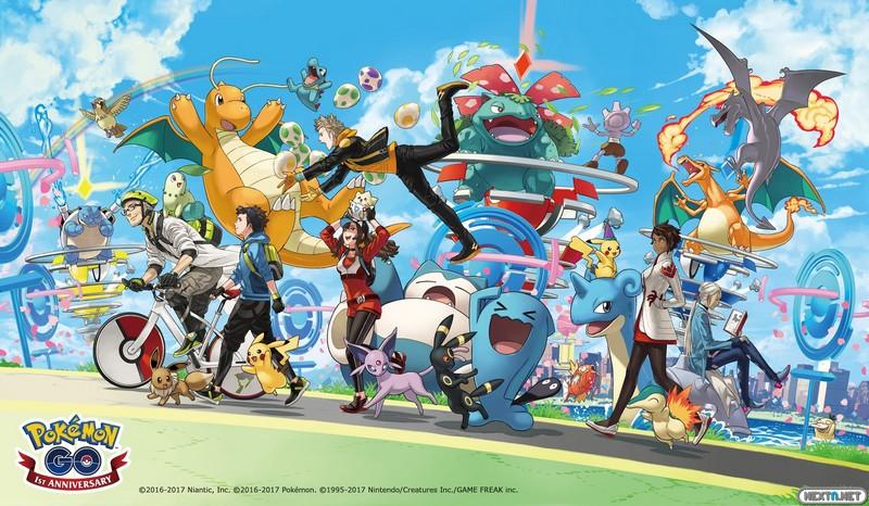 Aniversario Pokémon GO