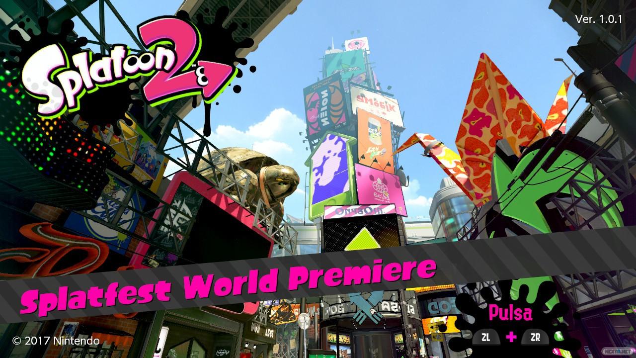 Splatoon 2 Splatfest World Premiere 1.0.1