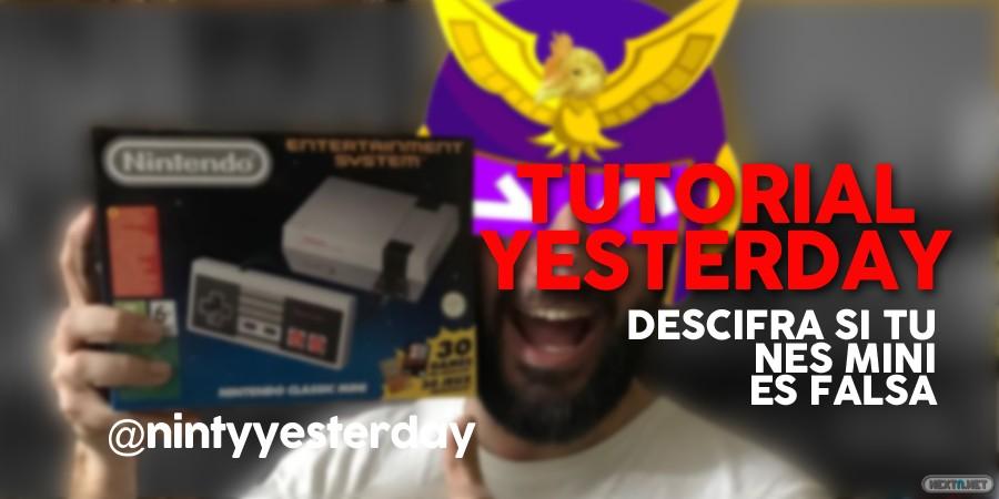 Yesterday Descifra si tu NES Mini es falsa