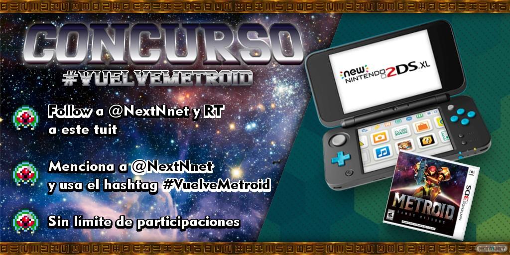 Concurso #VuelveMetroid New 2DS XL Metroid Samus Returns