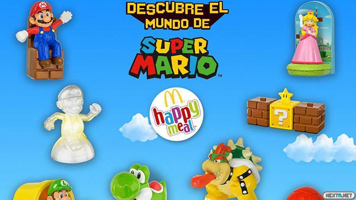 Super Mario Happy Meal