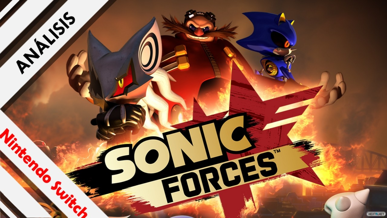 Análisis Sonic Forces Nintendo Switch