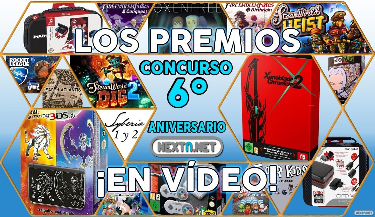 Premios Concurso #6aniversarioNextN