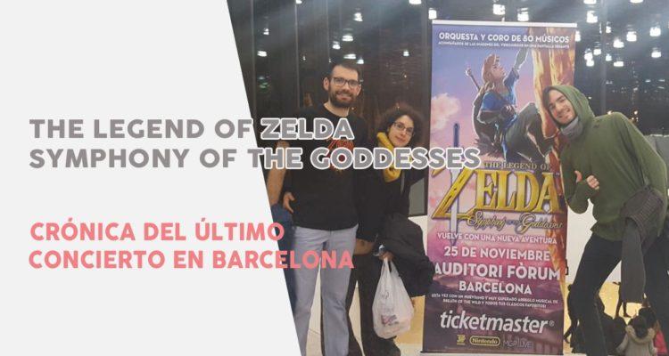 Crónica Concierto Zelda Symphony of the Goddesses