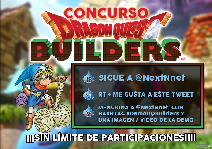 Concurso Demo Dragon Quest Builders Switch
