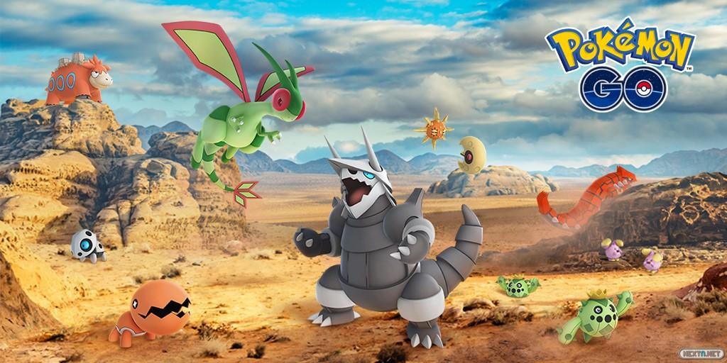 Pokémon GO tercera generación