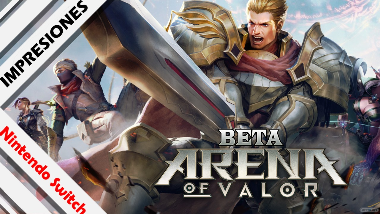 Arena of Valor Beta Impresiones