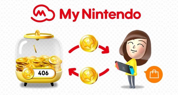 Puntos oro My Nintendo eshop