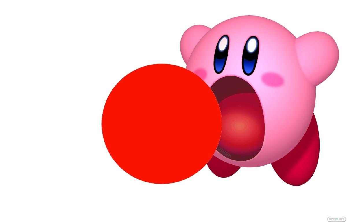 Bandera Ventas Japón Kirby