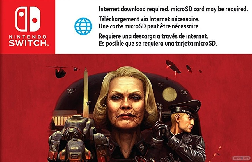 Wolfenstein II The New Colossus Switch descarga
