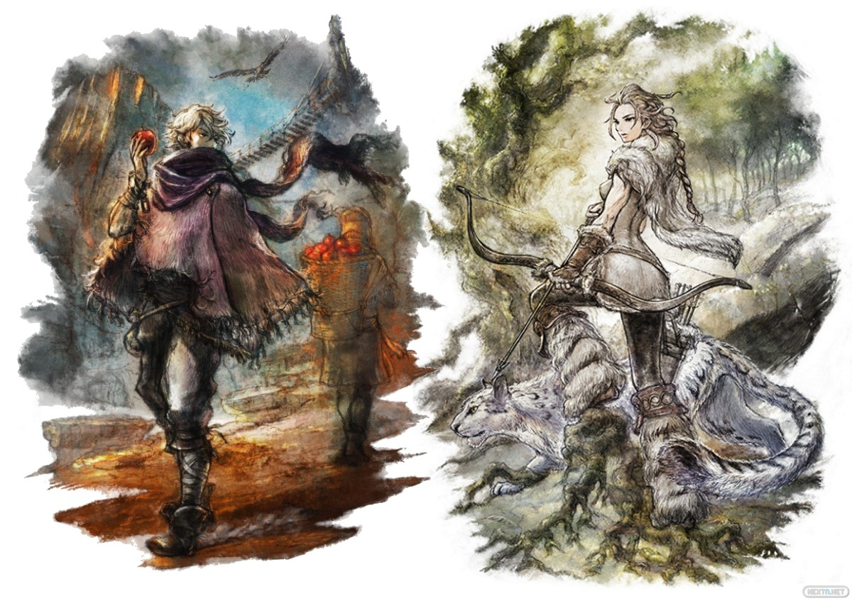 Octopath Traveler H'aanit Therion