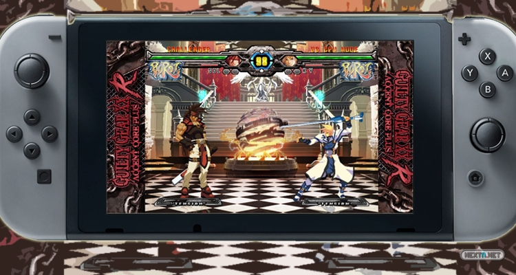 Guilty Gear XX Accent Core Plus R Nintendo Switch Guilty Gear 20th Anniversary Edition