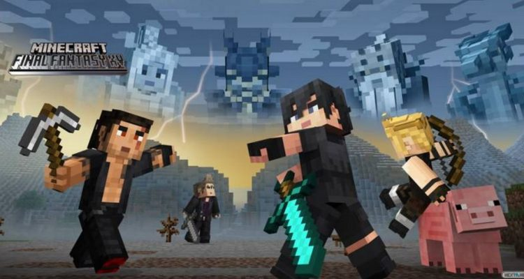 Minecraft Final Fantasy XV
