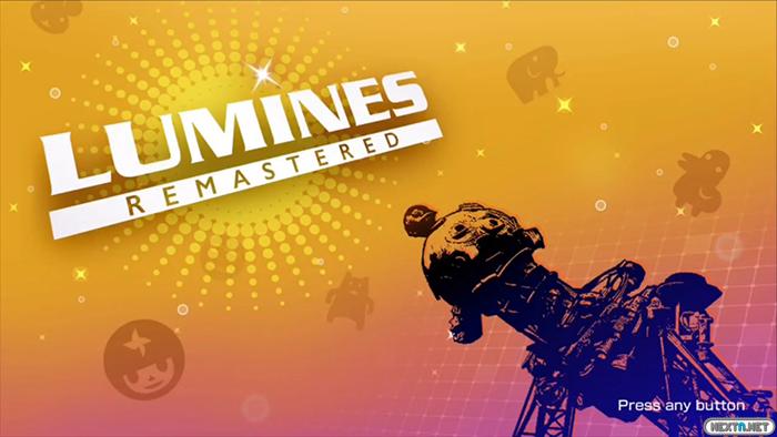 Lumines Remastered Switch