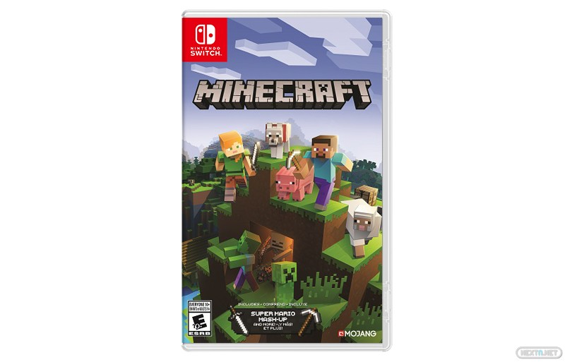Minecraft Nintendo Switch formato físico