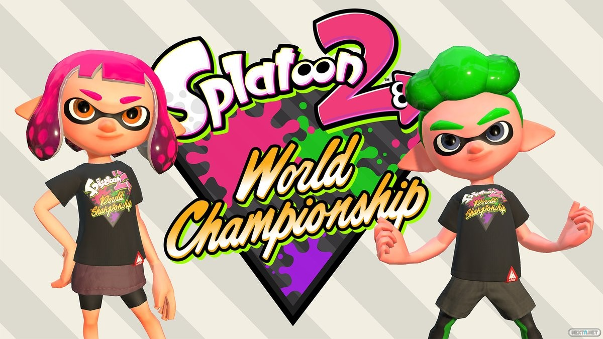 Splatoon 2 World Championship camiseta