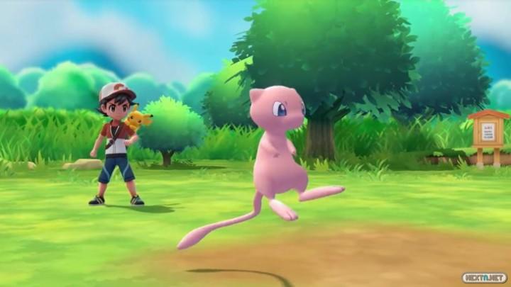 Pokemon Lets Go Mew Poke Ball Plus