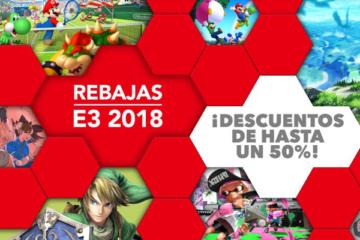 Rebajas Nintendo eShop E3 2018 Nintendo Switch Wii U 3DS