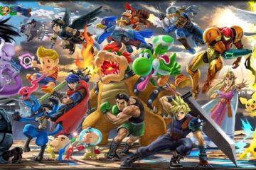 1806-13 Super Smash Bros. Ultimate Trajes Colores Especificaciones Técnicas 64 Tráilers Personajes Jugables Nintendo Switch