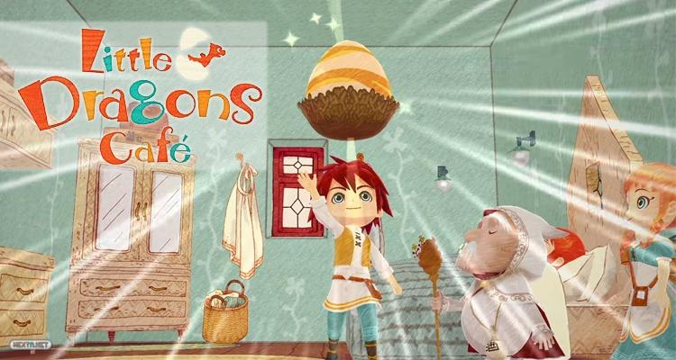 Little Dragons Café Nintendo Switch Tráiler E3 2018