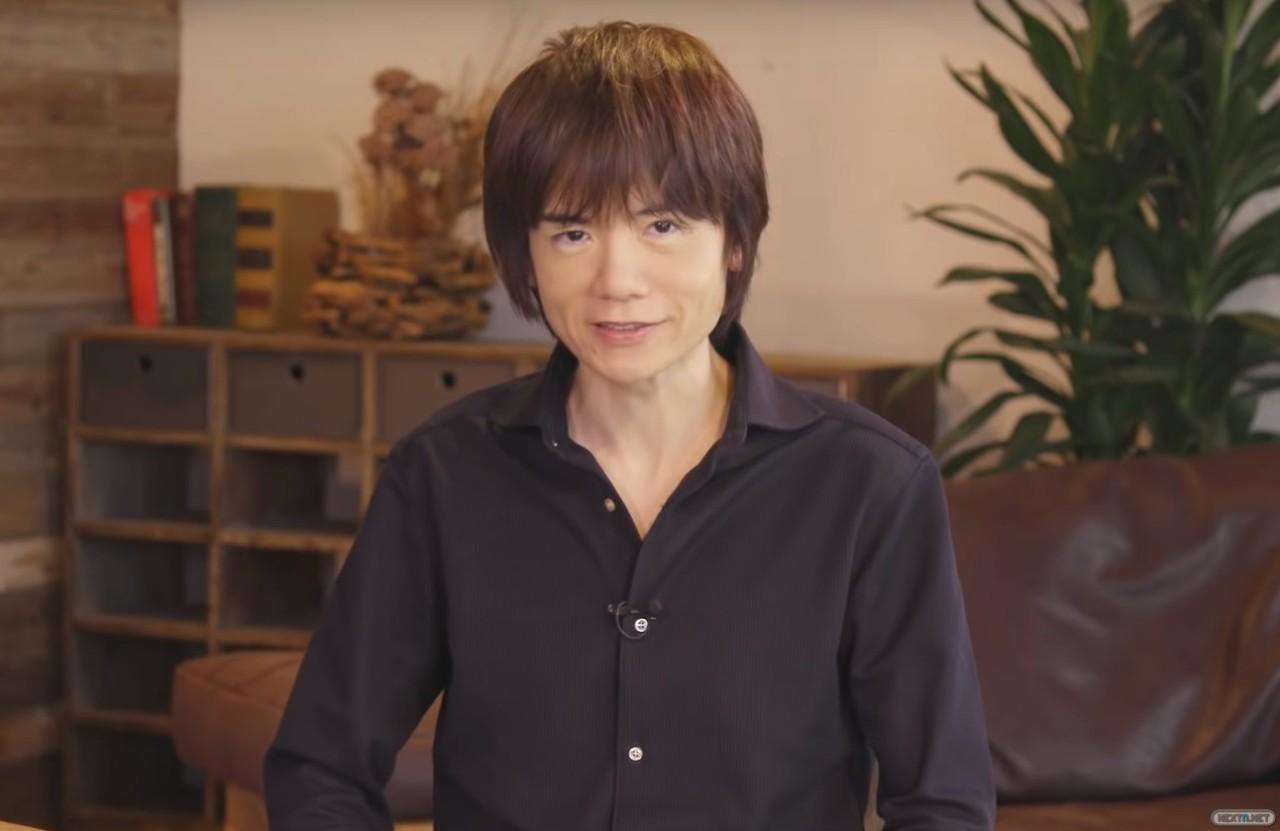 Masahiro Sakurai Super Smash Bros Ultimate