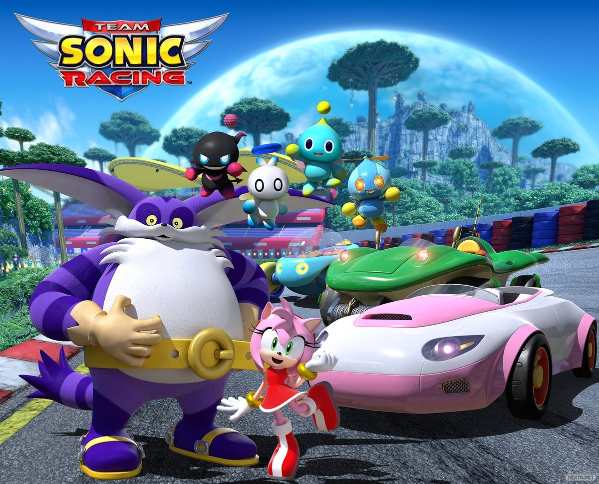 Team Sonic Racing Rose, Big the Cat, Chao
