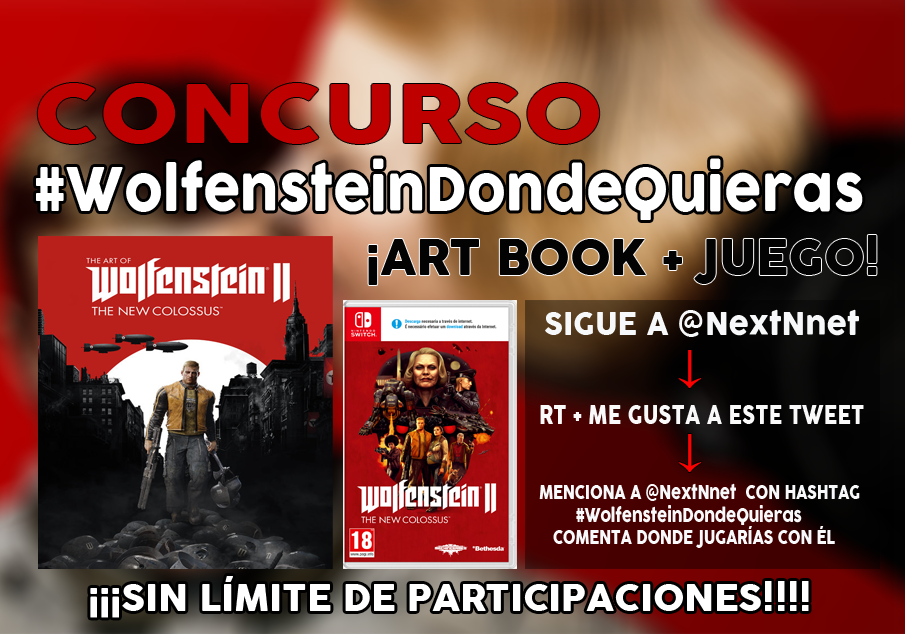Concurso Wolfenstein II #WolfensteinDondeQuieras