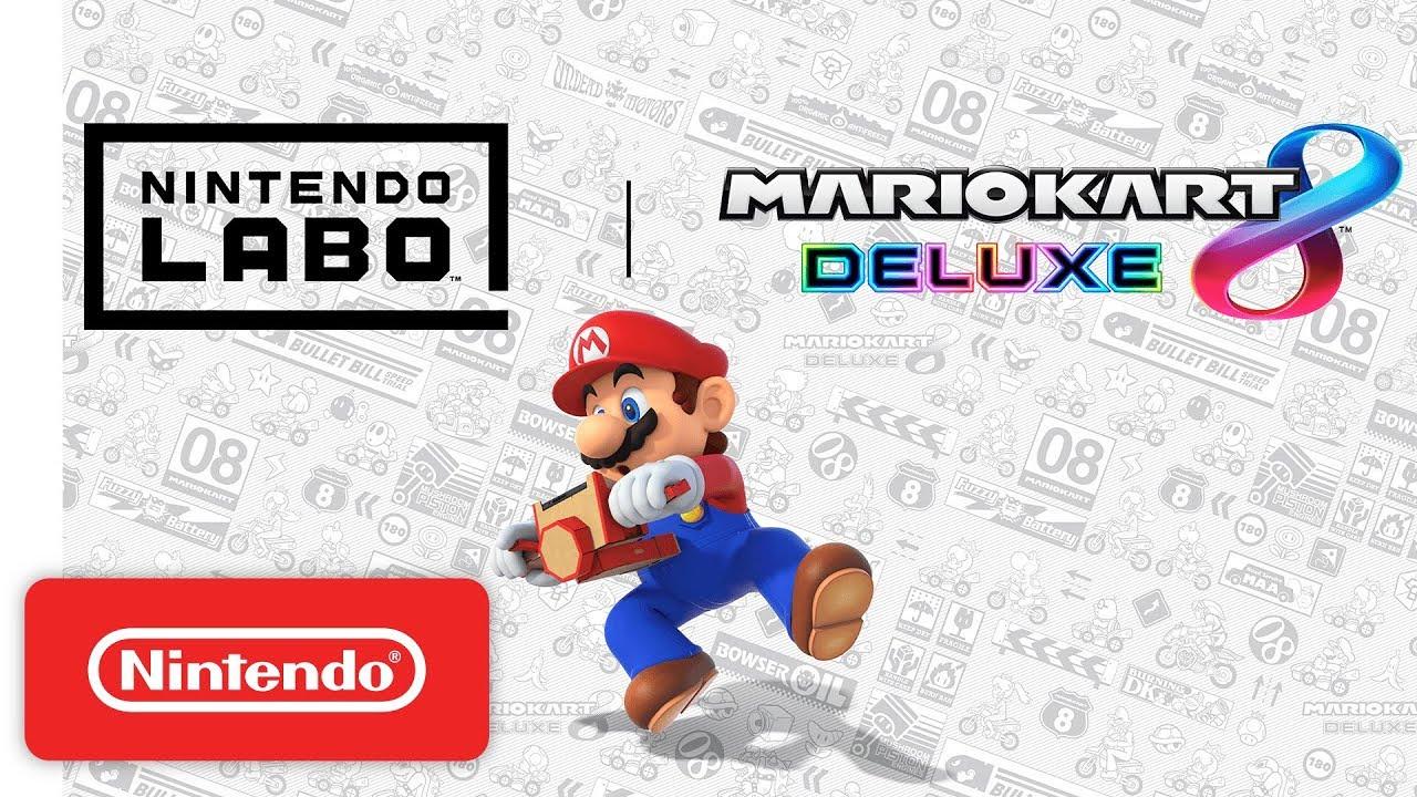 Mario Kart 8 Deluxe actualización 1.5.0 Nintendo Labo