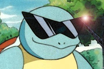 180703 - Pokémon GO Squirtle Gafas de Sol