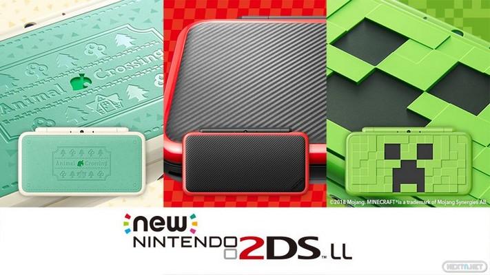 New 2DS XL Minecraft, Mario Kart 7, Animal Crossing