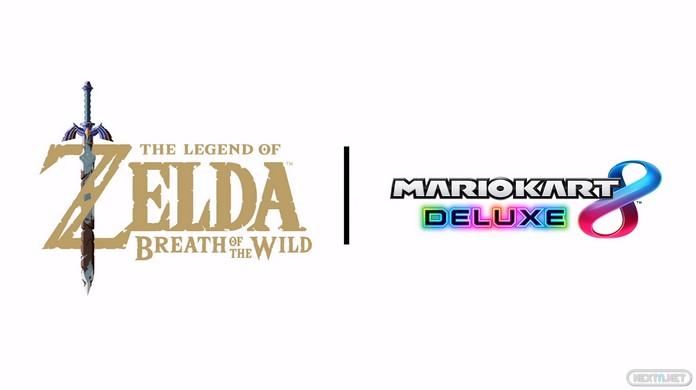 Mario Kart 8 Deluxe actualización 1.6.0 Zelda Breath of the Wild