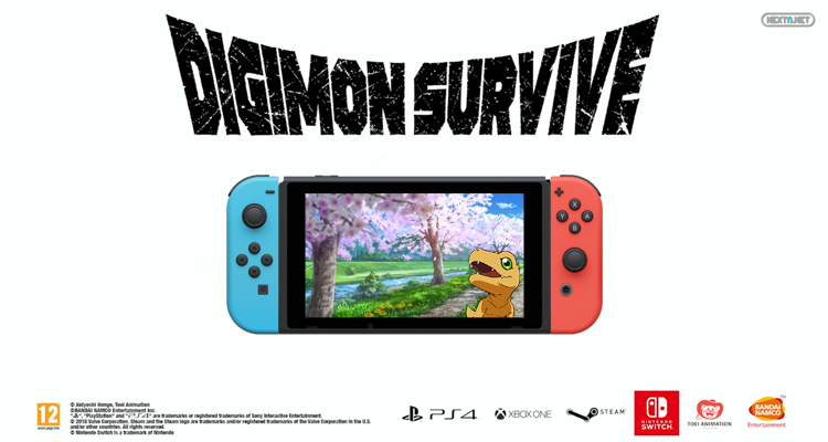 Digimon Survive Confirmado Europa América Occidente Nintendo Switch