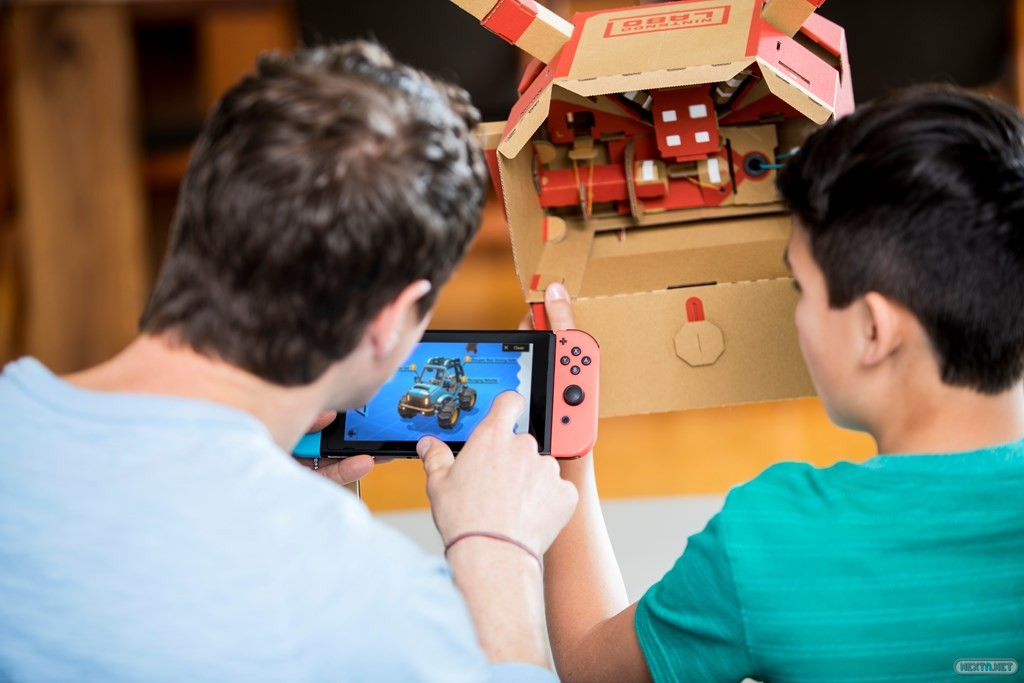 Nintendo Labo Kit de Vehículos 09