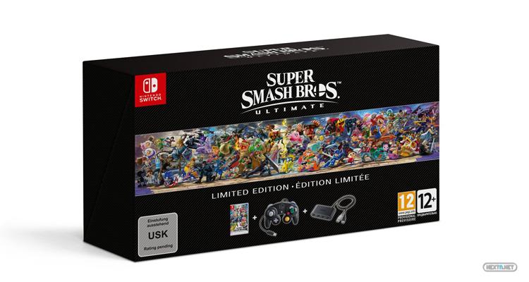 Super Smash Bros Ultimate Edición Limitada Nintendo Switch