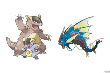 Pokémon Let's GO Mega Kangaskhan Mega Gyarados