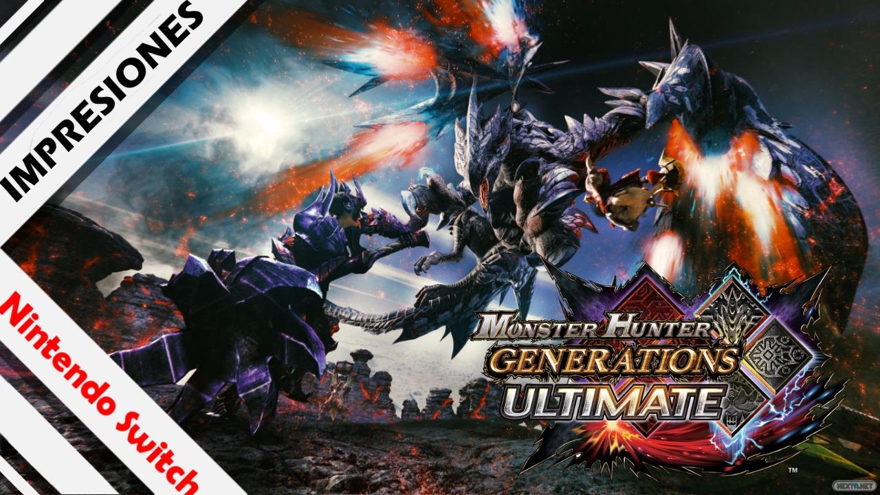 Monster Hunter Generations Ultimate avance impresiones