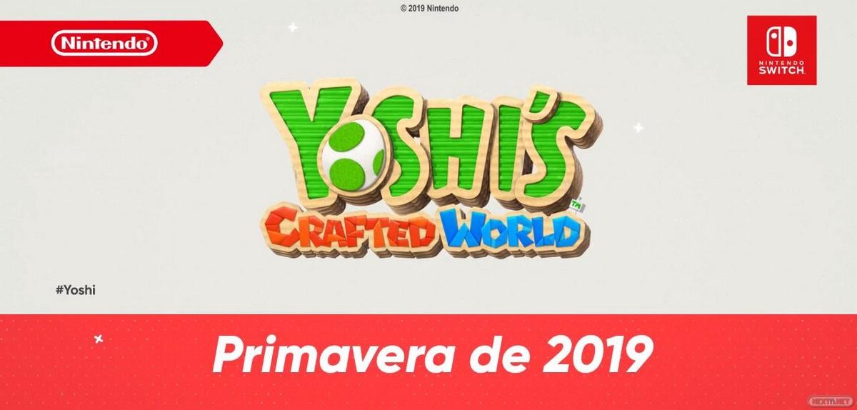 Yoshi's Crafted World Nintendo Switch Nintendo Direct