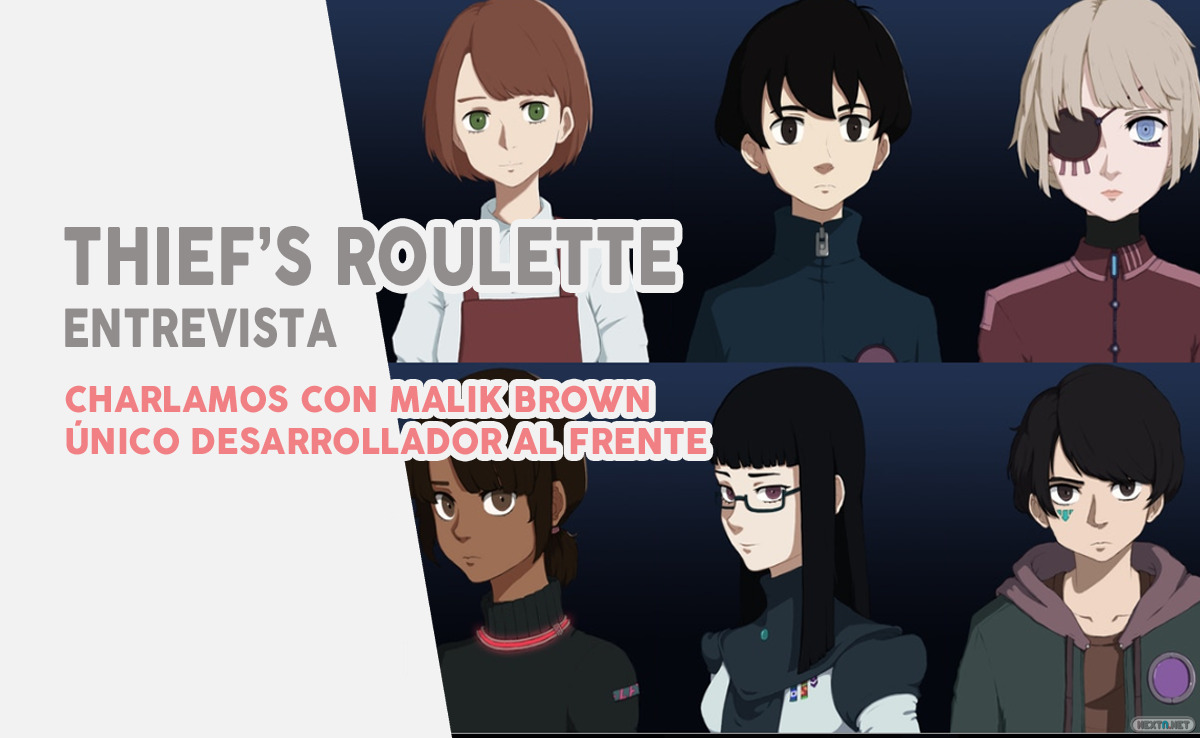 Entrevista Thief's Roulette Malik Brown