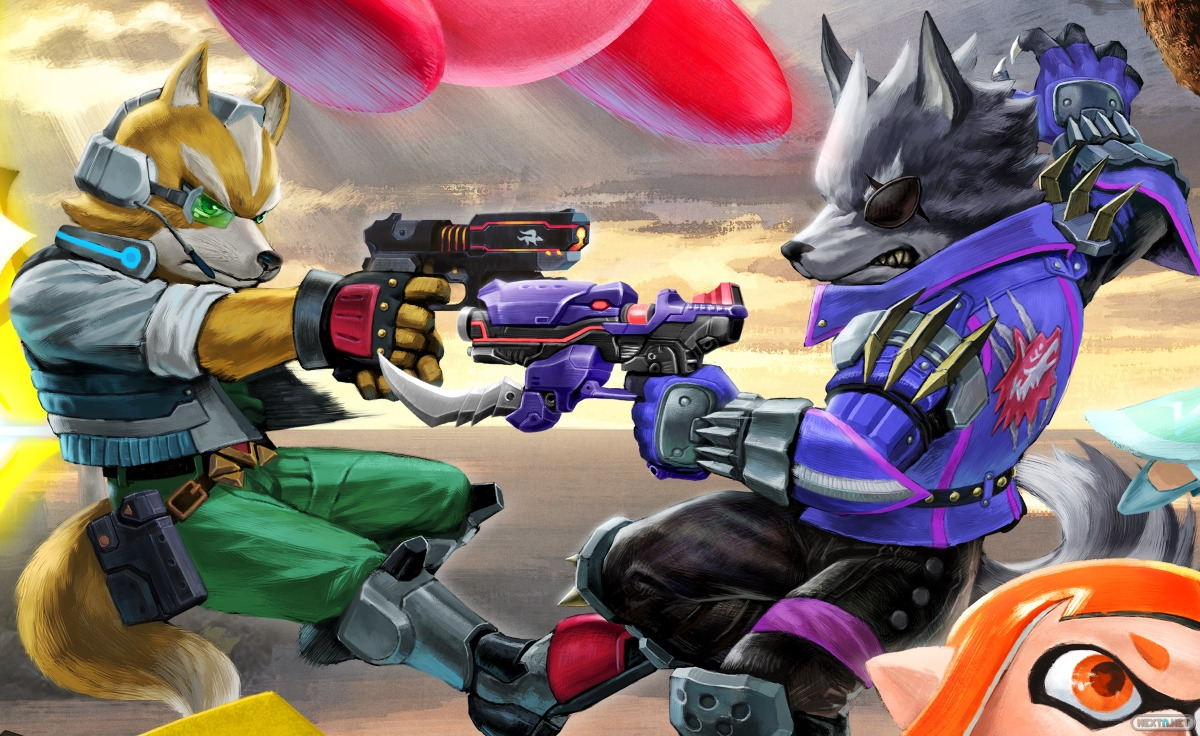 Super Smash Bros. Ultimate Star Fox McCloud Wolf O'Donnell