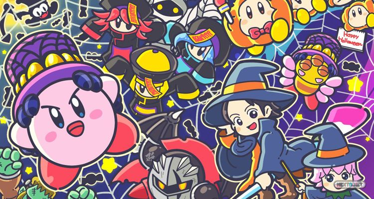 Kirby Halloween Artwork Nintendo