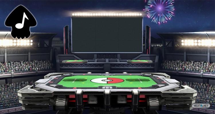 Super Smash Bros. Ultimate Estadio Pokémon Música Seaskape Nintendo Switch