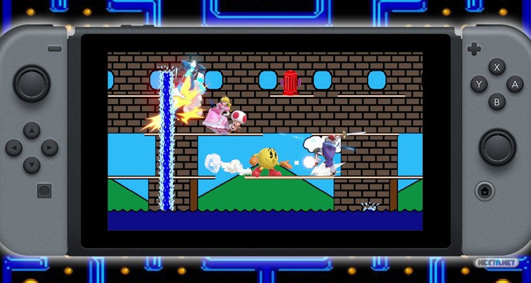 Super Smash Bros. Ultimate Blog Escenario PAC-LAND Nintendo Switch