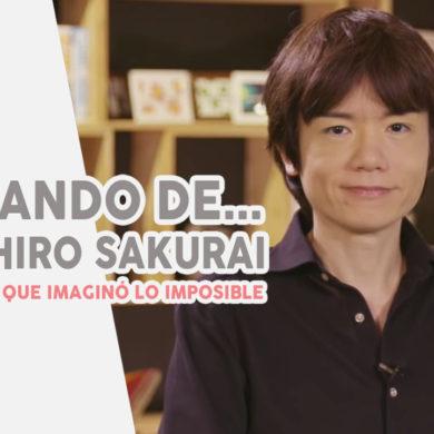 Hablando de Masahiro Sakurai
