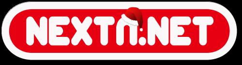 Logo NextN 2018 blanco rojo 500 navidad