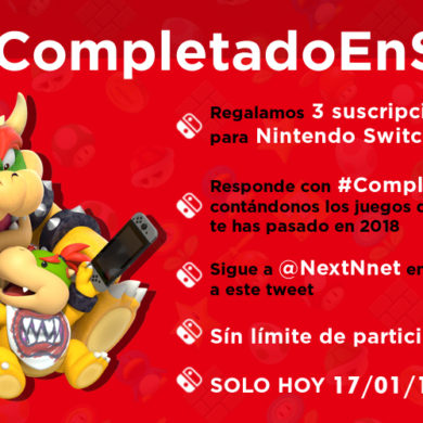 Concurso #CompletadoEnSwitch Nintendo Switch Online