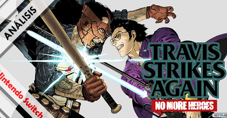Travis Strikes Again No More Heroes Switch