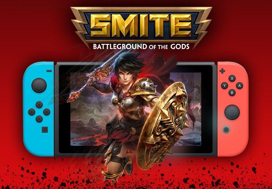 SMITE 5 25 Paquete de fundadores closed beta Nintendo Switch