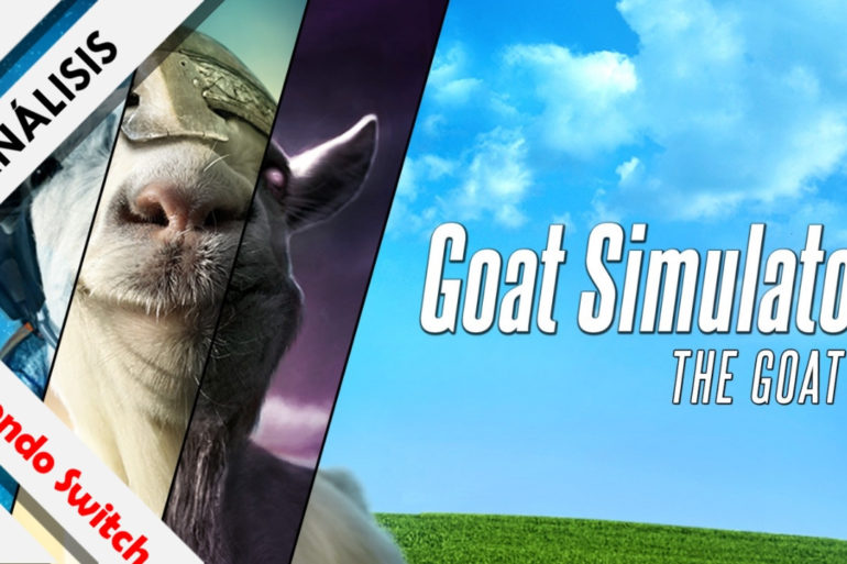 Análisis GOAT Simulator GOATY Switch