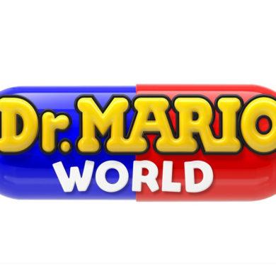 Dr. Mario World logo LINE