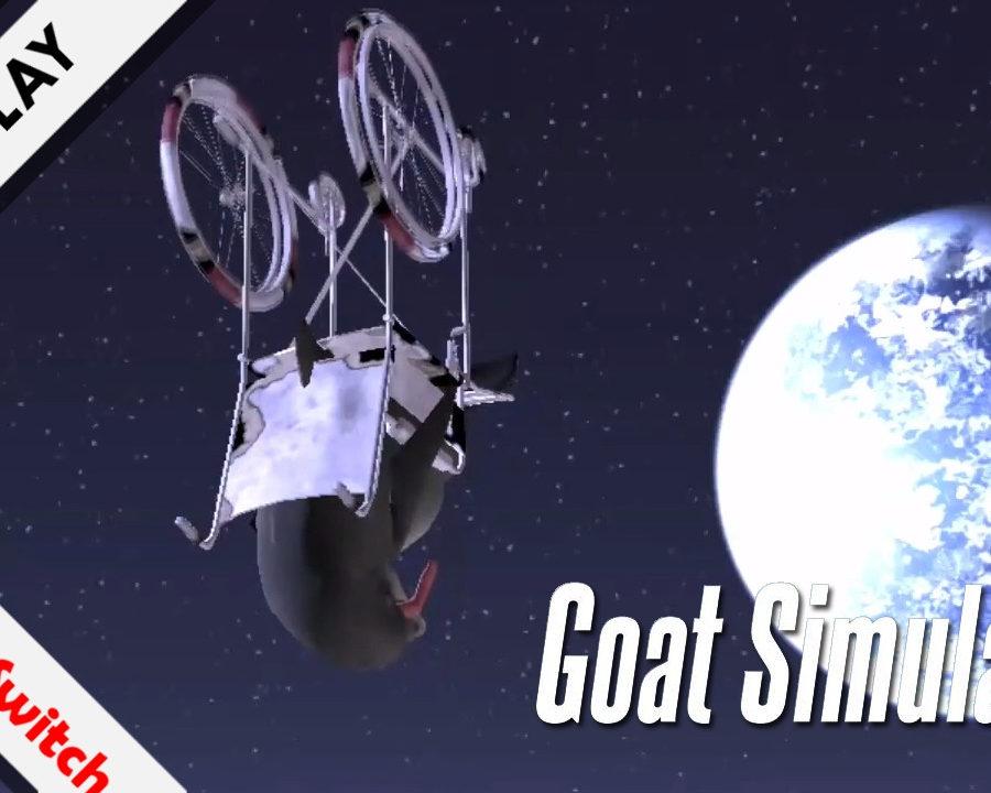 Goat Simulator the GOATY Nintendo Switch gameplay
